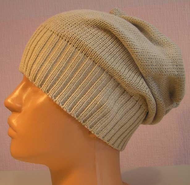 Вязание шапки на вязальной машине